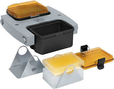 Hettich ROTINA 420 Spin Microtiter Plates with Bio-containment