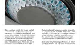 Hettich Micro Centrifuges sell sheet