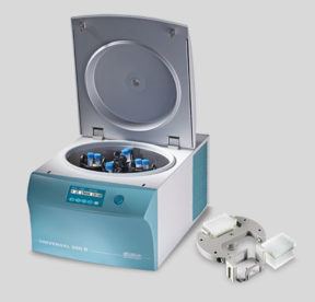 Hettich UNIVERSAL 320 R Benchtop Centrifuge with Conical Tube Rotor and Plate Rotor